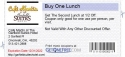 Buy One Lunch