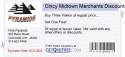 Cincy Midtown Merchants Discount