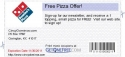 Free Pizza Offer!