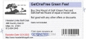 GetOneFree Green Fee!