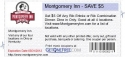 Montgomery Inn - SAVE $5