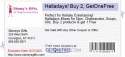 Halladays! Buy 2, GetOneFree