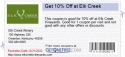 Get 10% Off at Elk Creek
