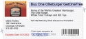 Buy One Ollieburger GetOneFree