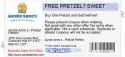FREE PRETZEL? SWEET
