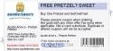 FREE PRETZEL? SWEET