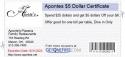 Apontes $5 Dollar Certificate