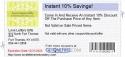Instant 10% Savings!