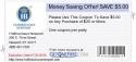 Money Saving Offer! SAVE $5.00